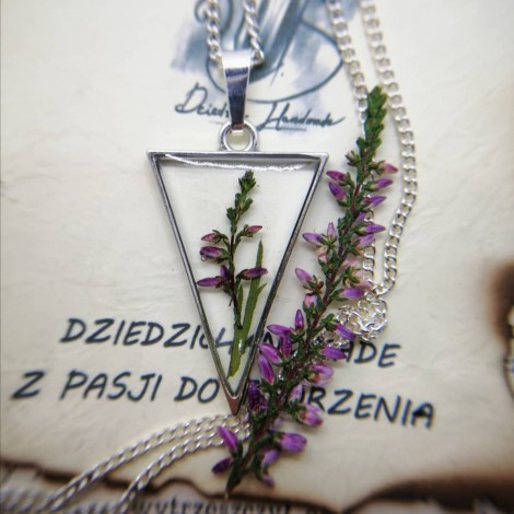 Naszyjnik - Wrzos