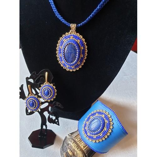Seria z naturalnym kamieniem - lapis lazuli