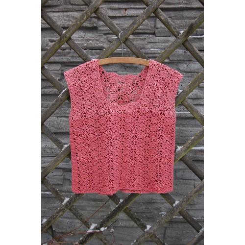 Różowa bluzka